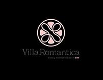 Villa Romantica | Hotel Branding Identity