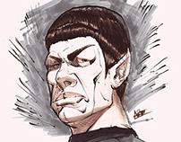 Spock Illustration