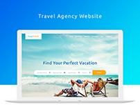 Easy Travel - Travel Agency Website