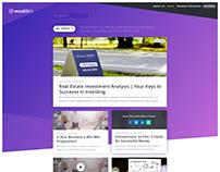 WealthFit.com Blog Redesign