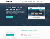 Booktofly Landing Page