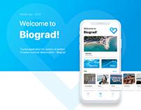Mobile App - Biograd