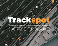 Дизайн лендинга. «TrackSpot»