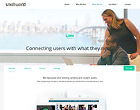 Small World - Web Design