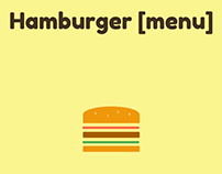 Hamburger [menu]