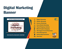 Digital Marketing Banner Design