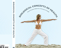BIOLOGICAL CONCEPTS OF HEALTH -Cover spread Design