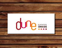 Identidade Visual e materiais gráficos para Dune