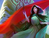 The Reckoning - Juno, the Banner Saga, 2016