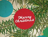 """Merry Christmas"" Greeting card & Merchandise"