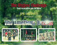 The American Dreams : The Biggest Challenge
