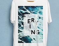 Everything Flows - T-shirt Design