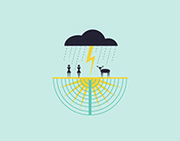 Backcountry Lightning Safety Poster