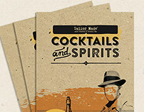 Cocktails & Spirits menu - Tailormade cafe