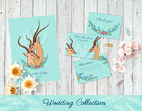 Wedding collection with Gazelle