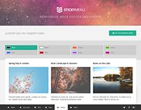 StickyMenu Responsive Mega Footer Navigation