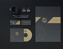 تصاميم الهوية لشركة سعد باشماخ للعود والعطور