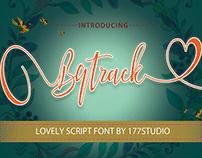 Free Font - Bqtrack Calligraphy