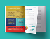 Report design for the Aspen Institute's ANDE