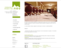 Hostal Nou | rebranding & website design & development