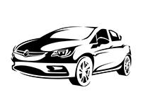 Vauxhall Astra illustration
