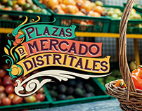 Plazas de Mercado Distritales (Logo)