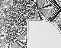 Mandala/Zentangle Insta Type Challenge (#36daysoftype)