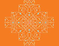 Diwali Digital Mandala