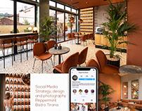 Cafe Bistro   Social media