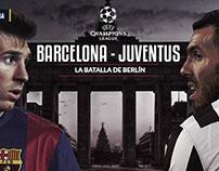 Barcelona - Juventus - Infografía
