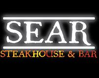 Sear Steakhouse & Bar Digital Menu Mock Up