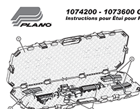 Plano Gun Case Instructions