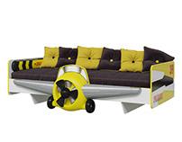 children's room Aviator