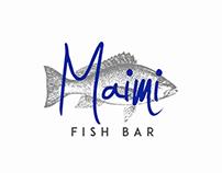 Maimi Fish Bar Pre-made Logo Template