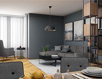 Remodeling Kenzo Tange -Apartment in Skopje city centar