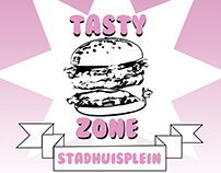 Poster Tasty Zone Corporate Design
