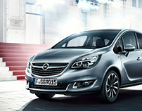 International Campaign - FULL CGI - Opel Meriva