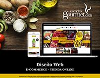 Diseño y adaptación tienda online
