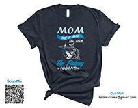 Fishing T-Shirt Design Bundle Free 3