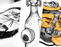 Ilustras, GIF's e Experimentos