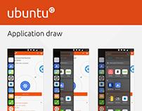 Ubuntu Application Draw