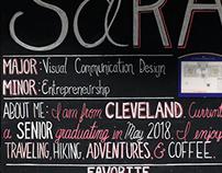 SaRA Chalk Board