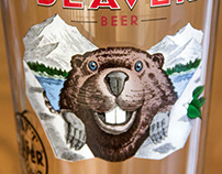 Beaver Beer Label