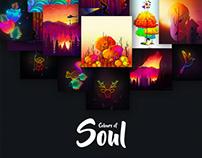 Colours of Soul - Illustration Series