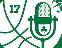 Havlicek Stole the Ball - Anniversary Logo