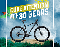 #CubeDope : Cube Bikes Social Media Campaign