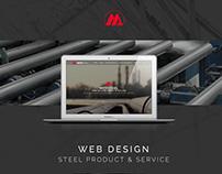 Mitrsteel - Web design & develope