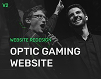OpTic Gaming, Team & Event Site