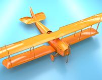 Biplano Curtiss JN-4