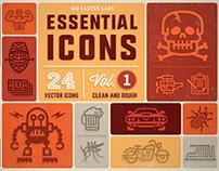 Essential Icons - Vol. 1